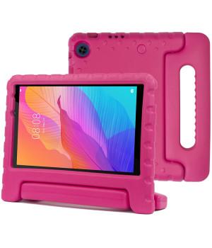 Детский противоударный чехол Galeo EVA для Huawei Matepad T8 (KOBE2-W09A, KOBE2-L09A) Pink