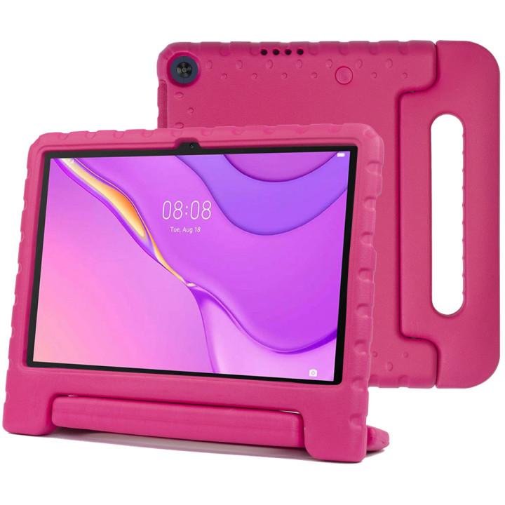 Детский противоударный чехол Galeo EVA для Huawei Matepad T10 / T10S Pink