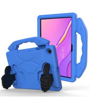 Детский чехол Galeo Thumbs Stand для Huawei Matepad T10 / T10S Blue
