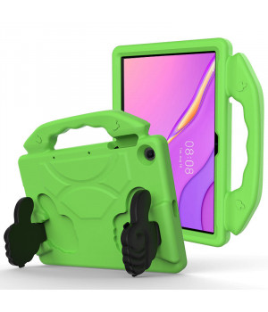 Детский чехол Galeo Thumbs Stand для Huawei Matepad T10 / T10S Green