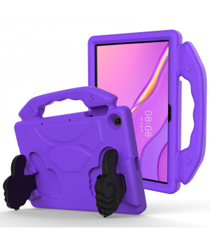 Детский чехол Galeo Thumbs Stand для Huawei Matepad T10 / T10S Purple