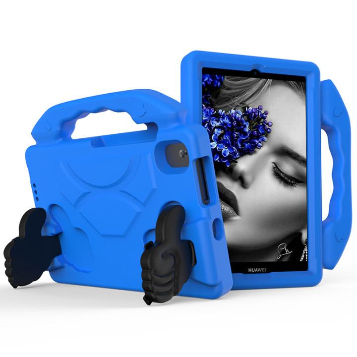 Детский чехол Galeo Thumbs Stand для Huawei Matepad T8 (KOBE2-W09A, KOBE2-L09A) Blue
