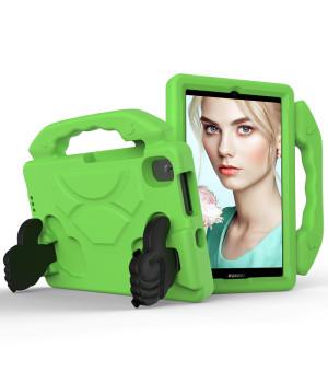 Детский чехол Galeo Thumbs Stand для Huawei Matepad T8 (KOBE2-W09A, KOBE2-L09A) Green