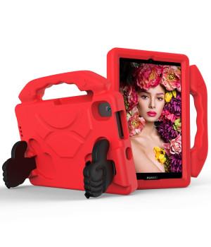 Детский чехол Galeo Thumbs Stand для Huawei Matepad T8 (KOBE2-W09A, KOBE2-L09A) Red