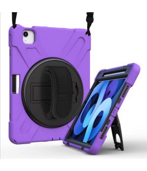 "Противоударный чехол Galeo Heavy Duty для Apple iPad Air 4 10.9"" / iPad Pro 11 (2020) Purple"