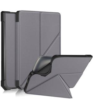 Чехол Glaleo TPU Origami для Pocketbook 740 Inkpad 3 / Color / Pro Grey