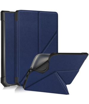 Чехол Glaleo TPU Origami для Pocketbook 740 Inkpad 3 / Color / Pro Navy Blue