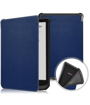 Чехол Galeo TPU Folio для Pocketbook 606, 628 Touch Lux 5, 633 Color Navy Blue