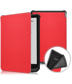 Чехол Galeo TPU Folio для Pocketbook 606, 628 Touch Lux 5, 633 Color Red