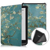 Чехол Galeo TPU Print для Pocketbook 606, 628 Touch Lux 5, 633 Color Almond Blossom