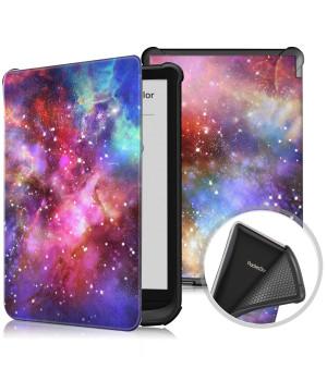 Чехол Galeo TPU Print для Pocketbook 606, 628 Touch Lux 5, 633 Color Galaxy