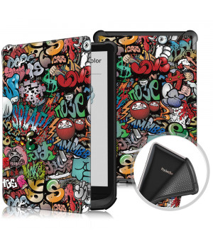 Чехол Galeo TPU Print для Pocketbook 606, 628 Touch Lux 5, 633 Color Graffiti