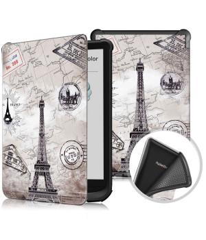 Чехол Galeo TPU Print для Pocketbook 606, 628 Touch Lux 5, 633 Color Paris