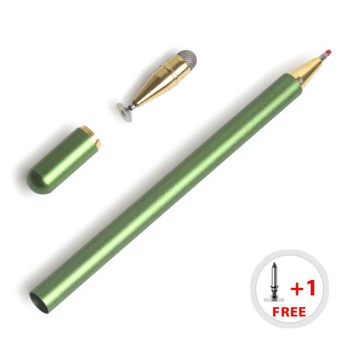 Стилус для планшета / смартфона Galeo Elite 3-in-1 Capactive Pen Green