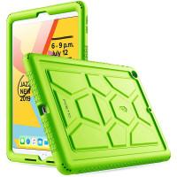 "Противоударная накладка Poetic TurtleSkin для Apple iPad 9/8/7 10.2"" (2021/2020/2019) Green"