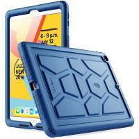 """Противоударная накладка Poetic TurtleSkin для Apple iPad 9/8/7 10.2"""" (2021/2020/2019) Navy Blue"""