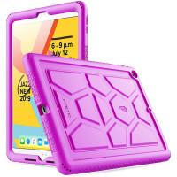 """Противоударная накладка Poetic TurtleSkin для Apple iPad 9/8/7 10.2"""" (2021/2020/2019) Purple"""