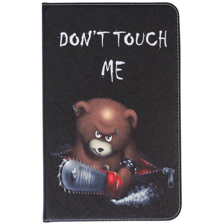 Чехол Galeo Classy Printed Stand для Samsung Galaxy Tab E 9.6 SM-T560, T561 Angry Bear