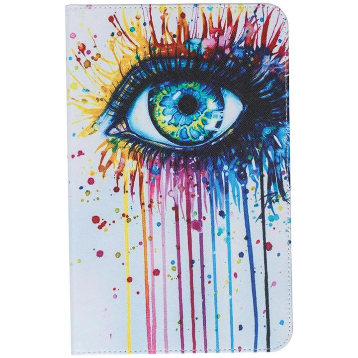 Чехол Galeo Classy Printed Stand для Samsung Galaxy Tab E 9.6 SM-T560, T561 Eye