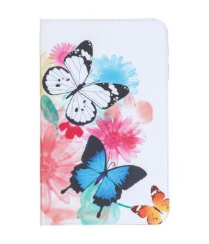 Чехол Galeo Classy Printed Stand для Samsung Galaxy Tab A 10.1 2016 SM-T580, SM-T585 Butterflies