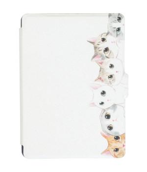 Обложка Galeo Slimline Print для Amazon Kindle 6 2016 White Cats