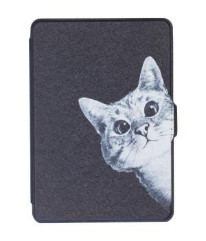 Обложка Galeo Slimline Print для Amazon Kindle Paperwhite Funny Cat Black