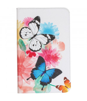 Чехол Galeo Classy Printed Stand для Samsung Galaxy Tab A 8.0 2017 SM-T380, T385 Butterflies