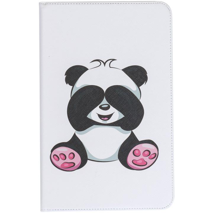Чехол Galeo Classy Printed Stand для Samsung Galaxy Tab E 9.6 SM-T560, T561 Baby Panda