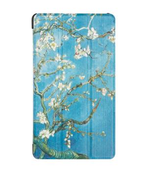 Чехол Galeo Slimline Print для Huawei Mediapad T3 7 3G (BG2-U01) Almond Blossom