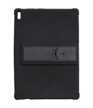 Силиконовый чехол Galeo для Lenovo Tab 4 10 Plus TB-X704F, X704L Black