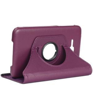 Поворотный чехол Galeo для Samsung Galaxy Tab 3 Lite 7.0 SM-T110, T111, T113, T116 Purple