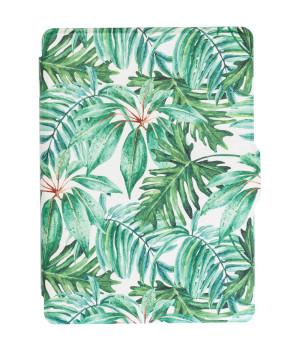 Обложка Galeo Slimline Print для Amazon Kindle 6 2016 Tropical Leaves