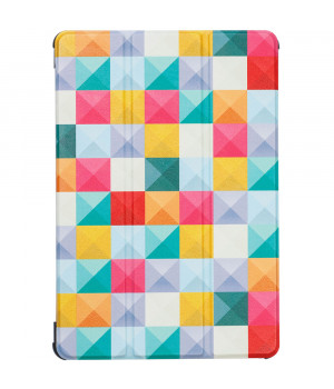 Чехол Galeo Slimline Print для Huawei Mediapad T5 10 (AGS2-L09) Colour Blocks